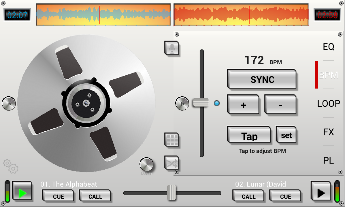 DJ Studio 5 - Free music mixer- screenshot