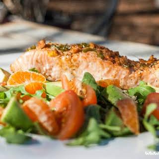 Grilled Sesame Ginger Salmon.