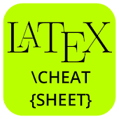 Latex Bibtex Cheat Sheet