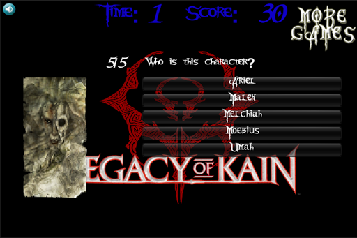 Legacy Of Kain Trivial SPANISH