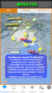 METEO FVG screenshot 0