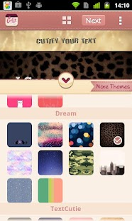Dream Theme for TextCutie - screenshot thumbnail