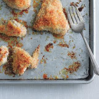 Oven-Fried Panko Chicken.