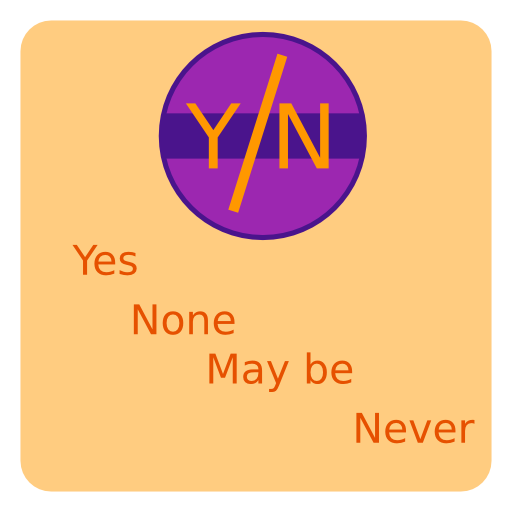 Yes-No chooser LOGO-APP點子
