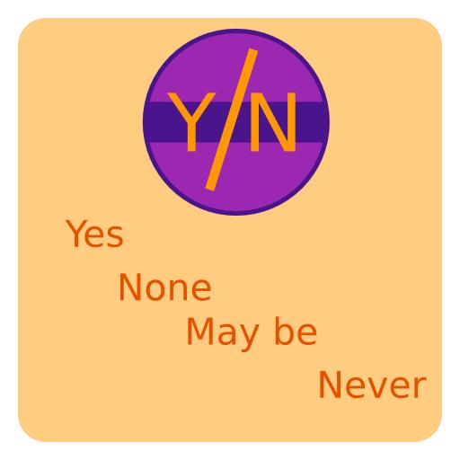 Yes-No chooser 教育 LOGO-阿達玩APP