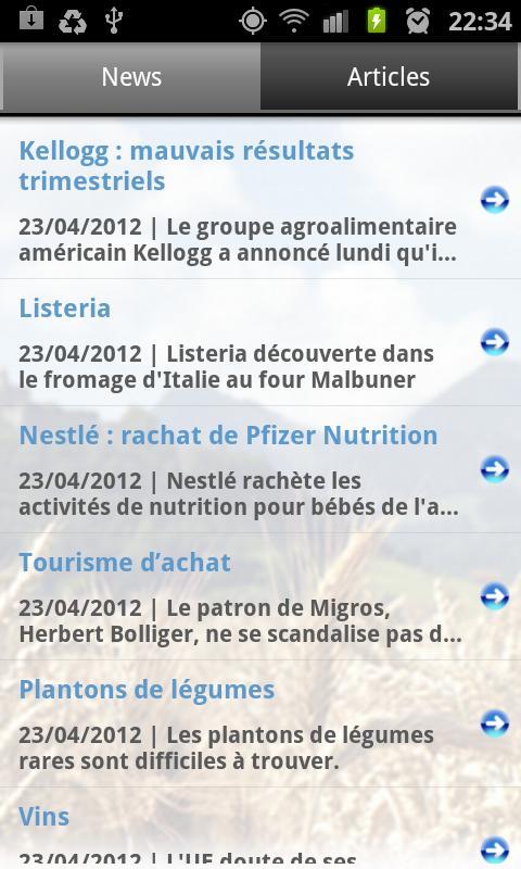 AGRI Info- screenshot