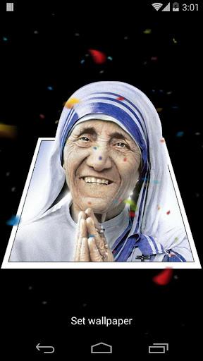 Mother Teresa 3D Effects