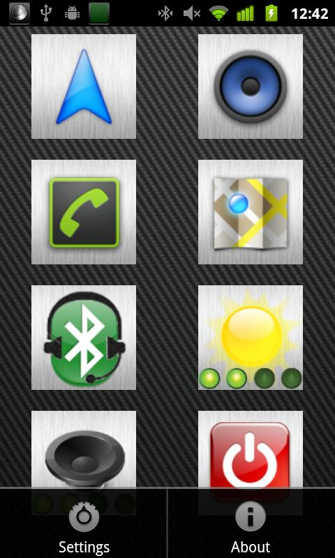 CarUI - screenshot