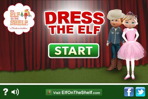 Elf Dress-Up, Elf on the Shelf - screenshot