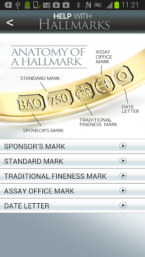 Help With Hallmarks
