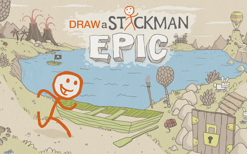 Game Draw a Stickman: EPIC Free APK for Windows Phone