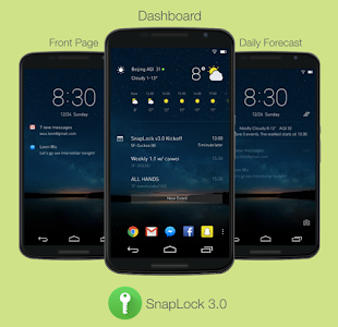 SnapLock Smart Lock Screen v3.7.1