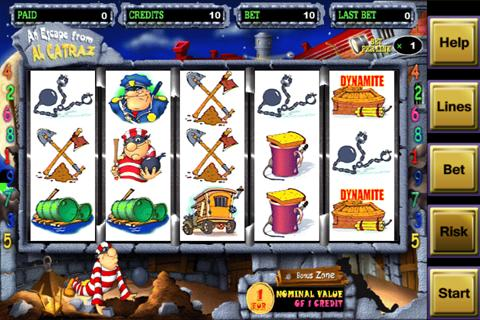 Alcatraz Casino Slot Game FREE - screenshot