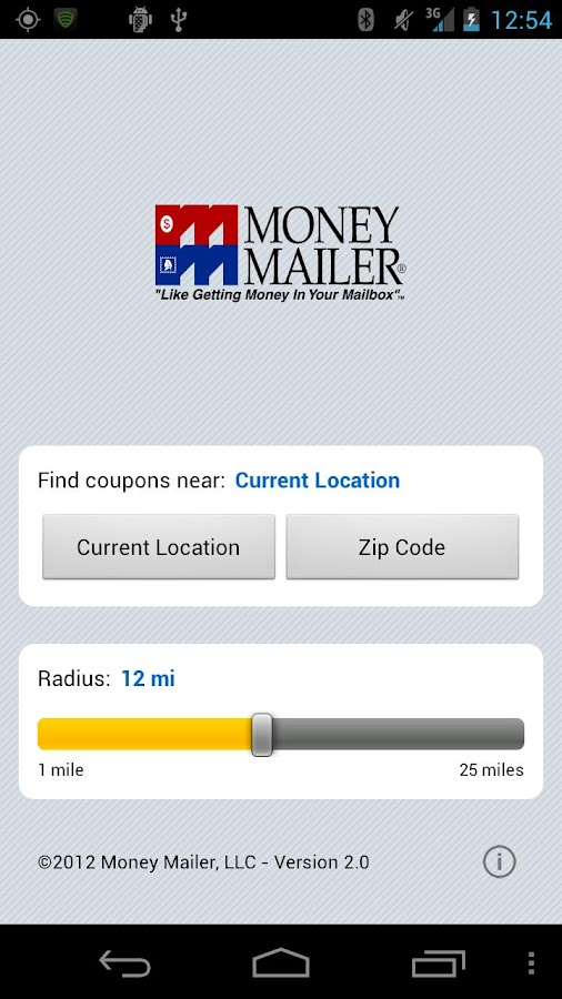 Money Mailer Coupons - screenshot