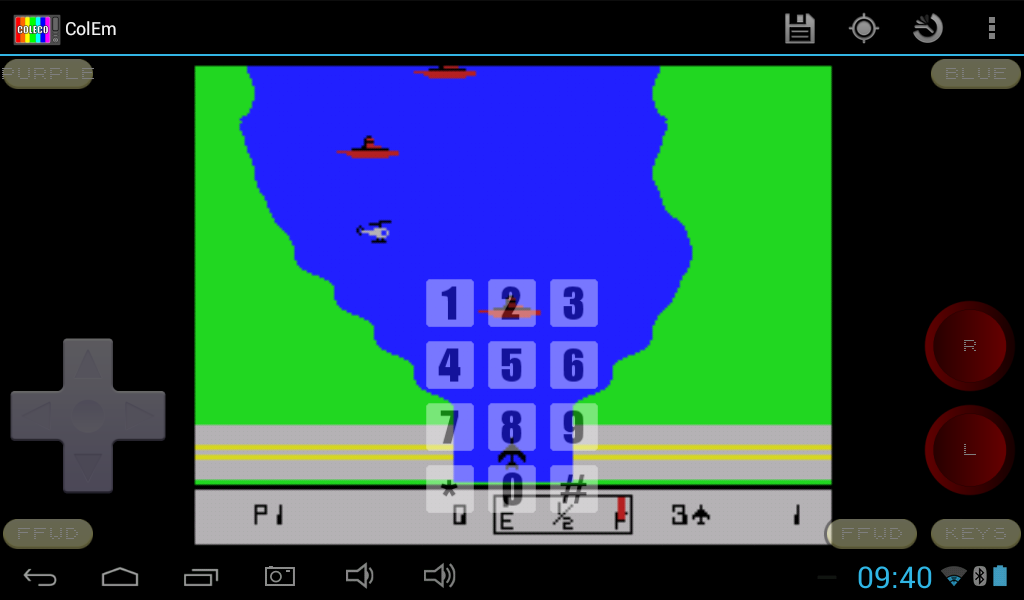 ColEm - Free Coleco Emulator- screenshot