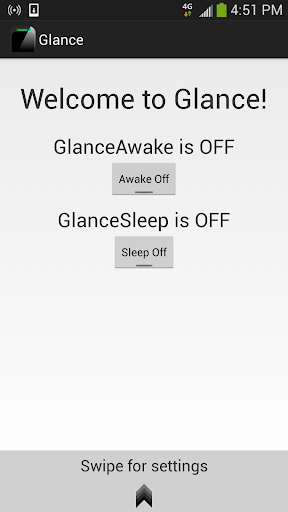 Glance - Proximity Screen Off