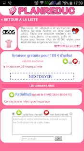 Plan reduc codes promo gratuit apps on google play - Code reduc cdiscount frais de port gratuit ...