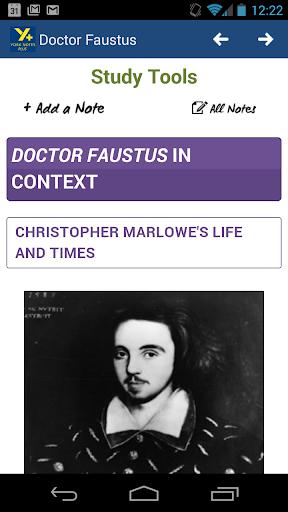 Doctor Faustus AS A2