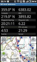 Screenshot of GPS Grid Reference -  Full