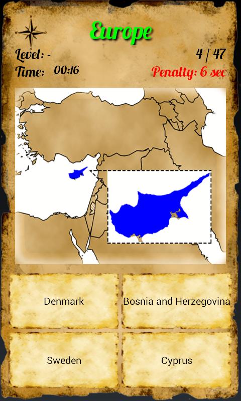 Quiz Geo World Android Apps On Google Play - Denmark map quiz