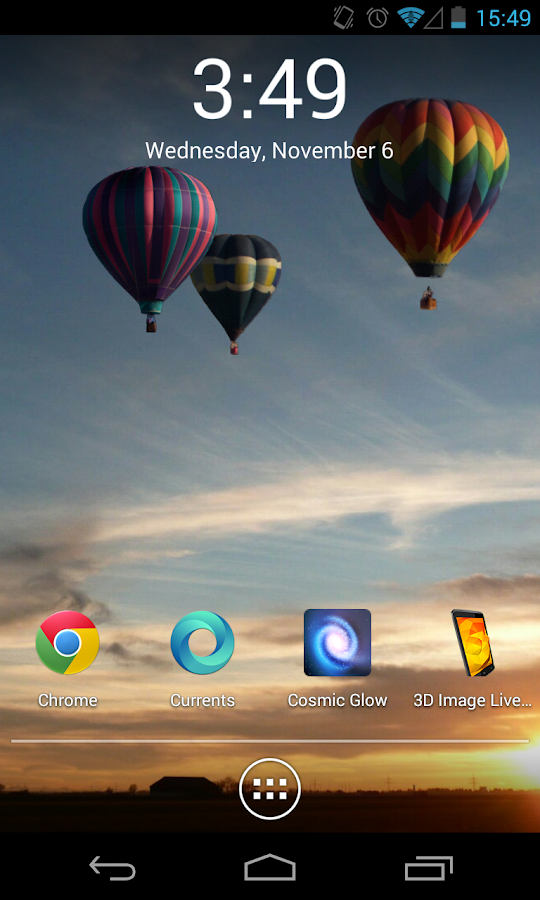 3D Image Live Wallpaper- screenshot