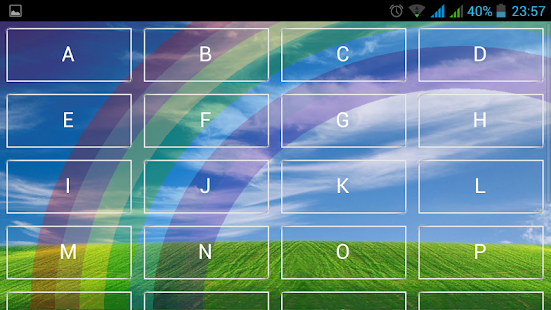 Play with Alphabets full Free - screenshot thumbnail