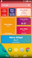 Screenshot of D-Day Counter And Memo Widget