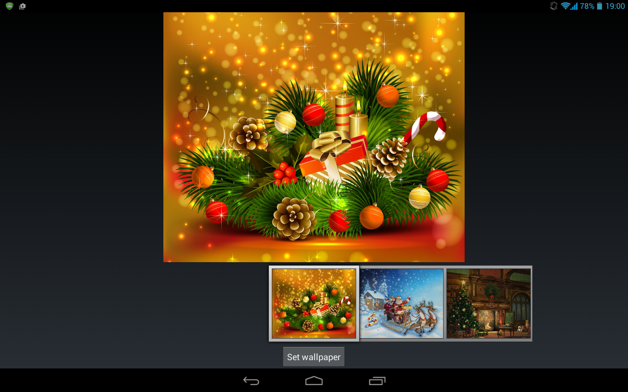 Google xmas themes - Merry Christmas The Theme Screenshot
