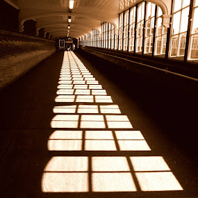 This came front cover on a magazine last year - Bexhillian.Taken at Bexhill Train Station ramp to platform by Sam Kirimli - Digital Art Places
