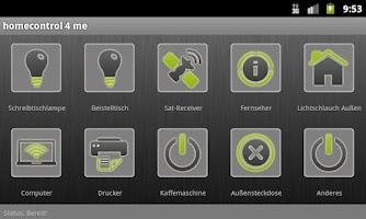 Screenshot of homecontrol4me