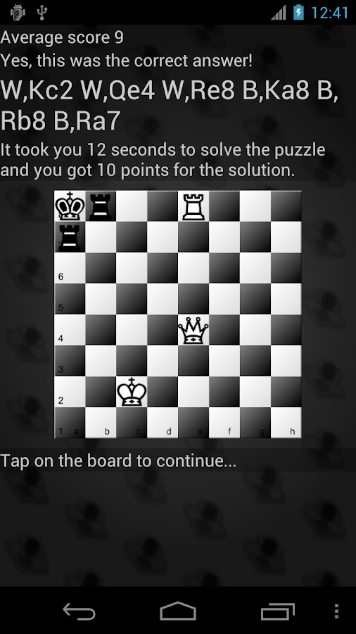 Chess Visualization Trainer - screenshot