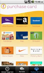 Tango Card – Gift Card Wallet - screenshot thumbnail
