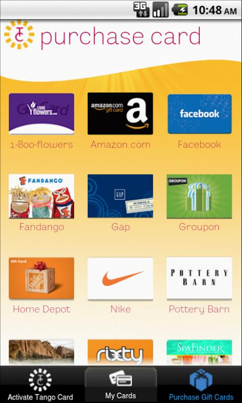 Tango Card – Gift Card Wallet - screenshot