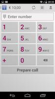 Screenshot of Tariffic - cheap calls