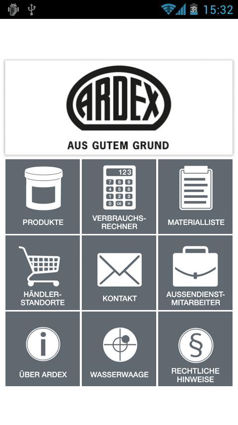 ARDEX – Screenshot