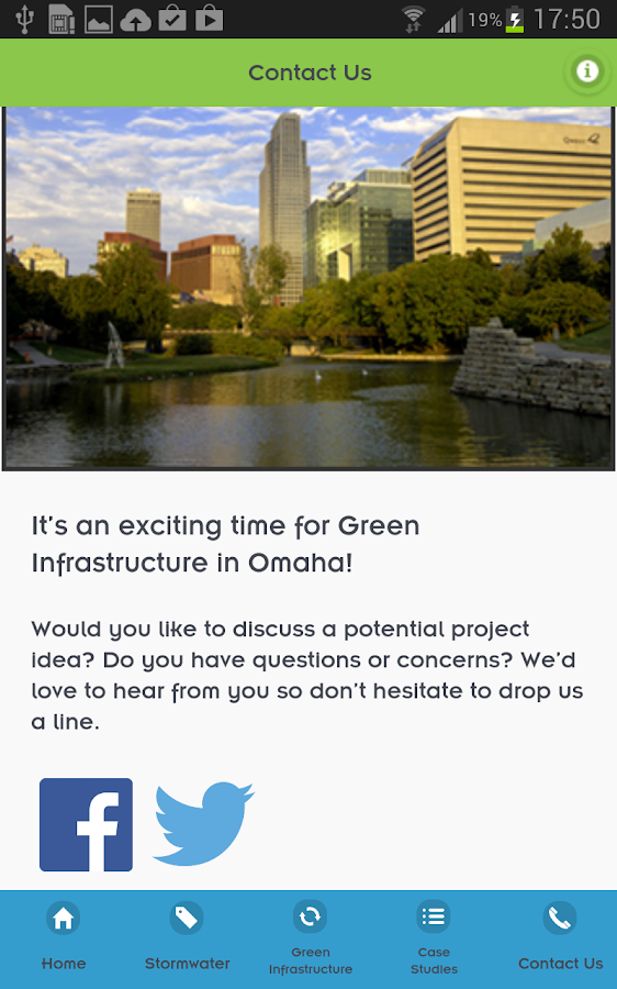 Omaha Green Infrastructure- screenshot