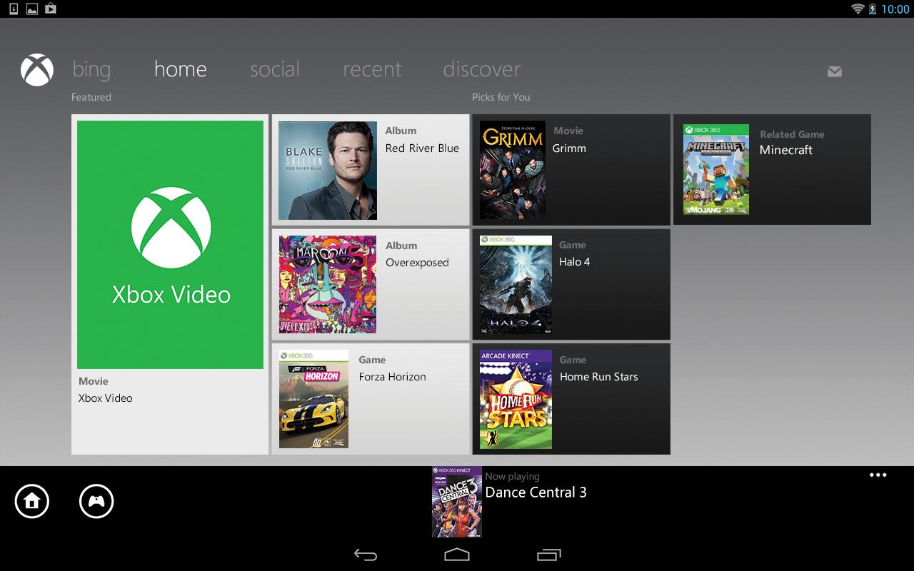 Xbox 360 SmartGlass screenshot #10