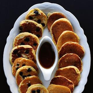 Cornmeal and Greek Yoghurt Pancakes