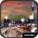 Night City Live Wallpaper HD icon