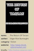 Screenshot of The Return Of Tarzan