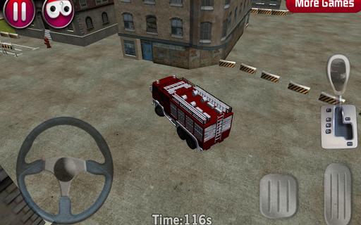 Fire Truck parking 3D 1.9 screenshots 1