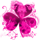 Pink Flowers Theme GO Launcher icon