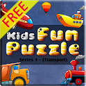 Kids Transport Puzzle Free icon