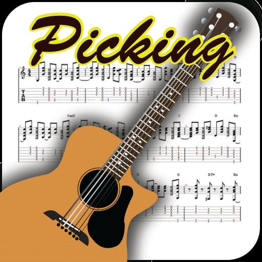 Guitar Picking LOGO-APP點子