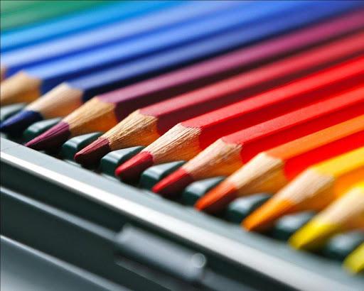 彩色鉛筆情緒壁紙