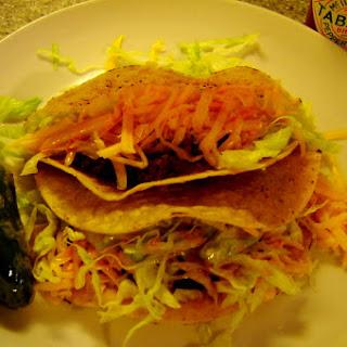 Crunchy Ground Beef Tacos.