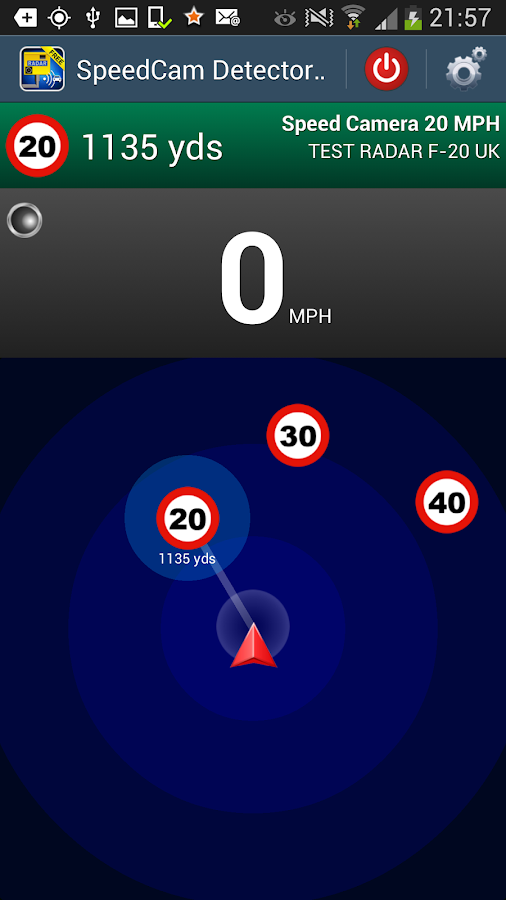 Speed Camera Detector Free - screenshot