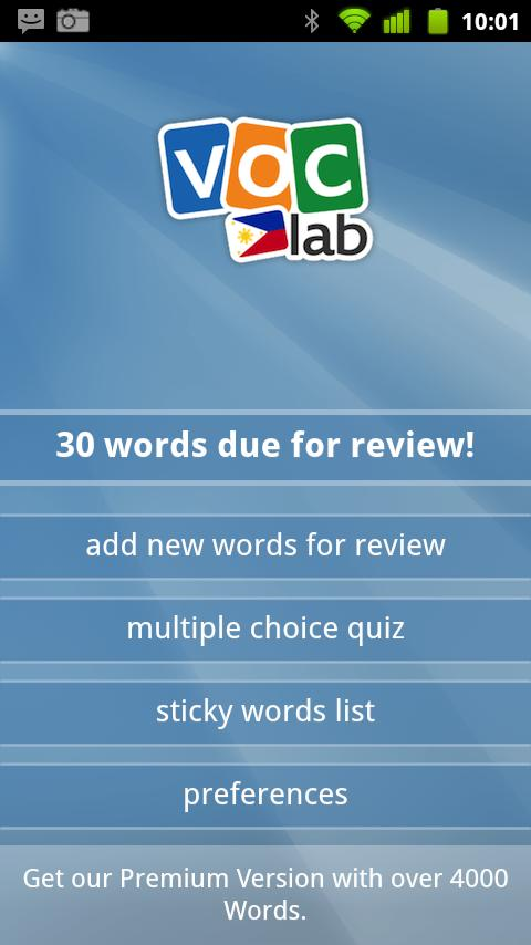 Learn Tagalog Flashcards - screenshot