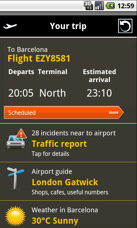 Schiphol Airport Guide - screenshot