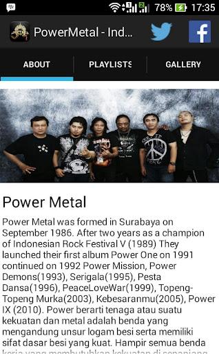 Power Metal - Indonesia